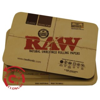 RAW Rolling Tray Cover Magnetic small 27,5 x 17,5 cm